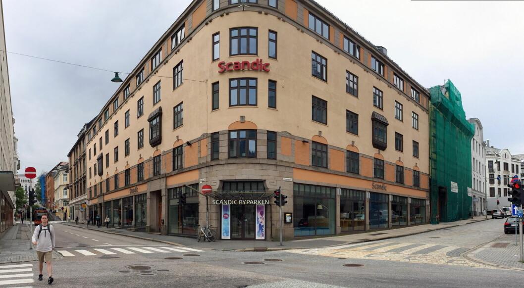 Scandic Byparken i Bergen er fylkesvinner i Bergen, og føyer seg inn i rekken av mange semifinalister fra Scandic Hotels. (Foto: Mattis Holt)
