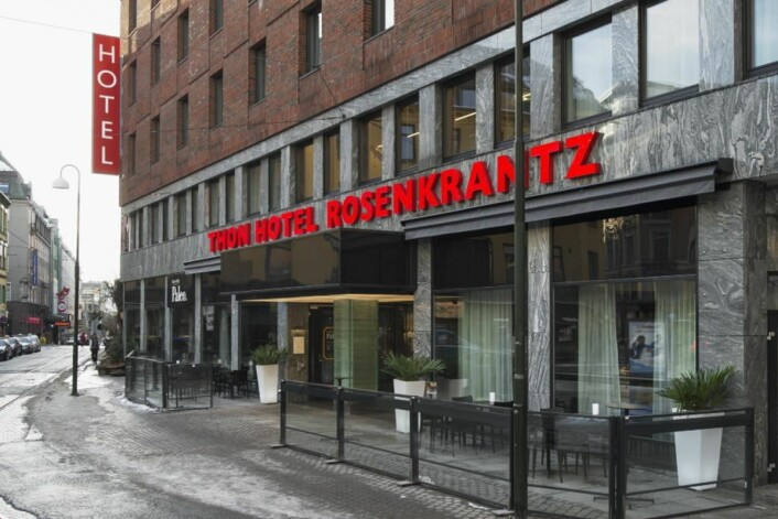 Thon Hotel Rosenkrantz vant den knallharde drakampen om den beste frokosten i hovedstaden. (Foto: Thon Hotels)