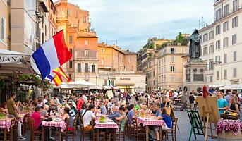 Vi drar til Roma for å spise