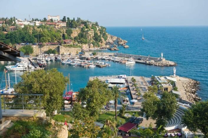 Fra havnen i Antalya. (Foto: Colourbox.com)