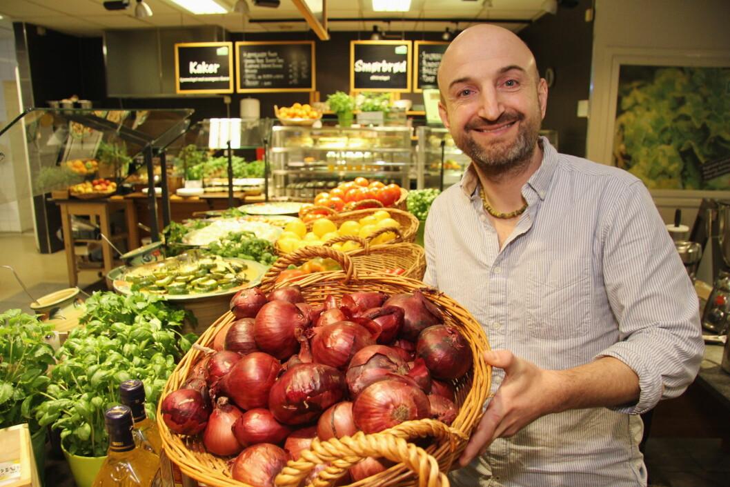 IntoLife med gründer Will Nicholson er norgesvinner i Local Eat Award 2016. (Foto: Morten Holt)