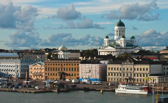 Helsinki frister ikke på matferie. (Foto: Colourbox.com)