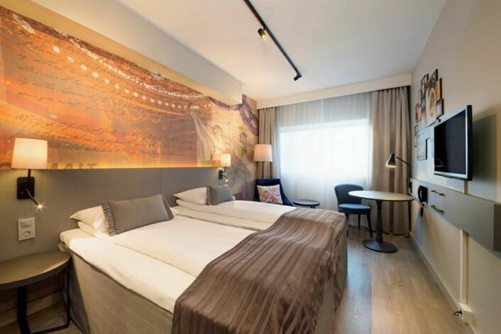 Samtlige 241 rom er totalrenovert. (Foto: Scandic Hotels)