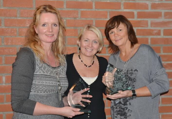 Kvinnene i sentrum når det i helga arrangeres ølfestival på Sundbytunet - i regi Kjersti Sundby (til venstre). (Foto: Arkiv)