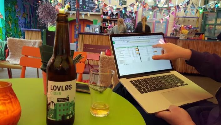 Sider-salget i Norge bare øker. (Foto: Privat)