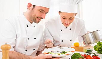 Legat til tre unge kokker