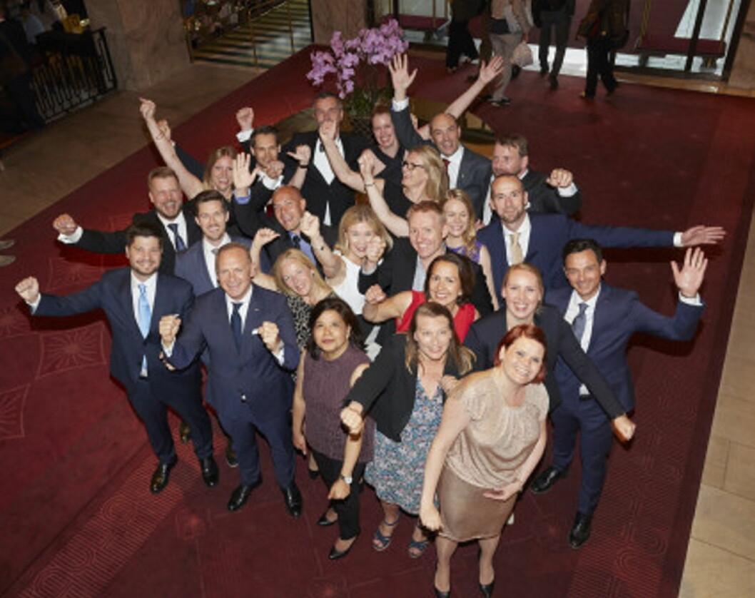Scandics ledertalenter ble feiret. (Foto: Scandic Hotels)