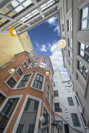 Tre bygårder, deriblant Hoppegården og Frølichgården, er involvert for å få plass til alle fasiliteter, inkludert 181 rom. (Foto: Marika Markestøl)