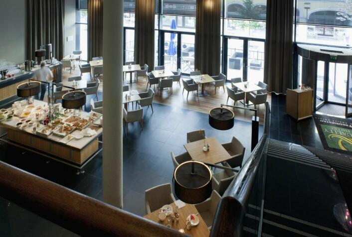 Fra restauranten på Quality Hotel Fredrikstad. (Foto: Hotellet)