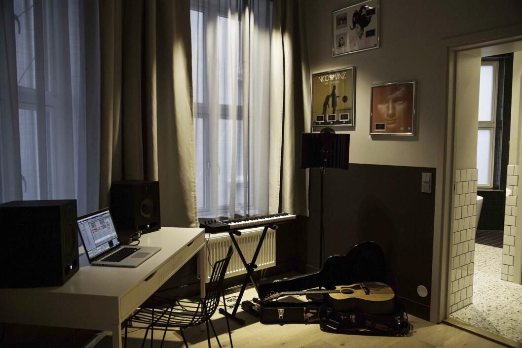På Comfort Hotel Karl Johan kan gjestene bo på egne musikkrom – hotellrom utstyrt med innspillingsutstyr.