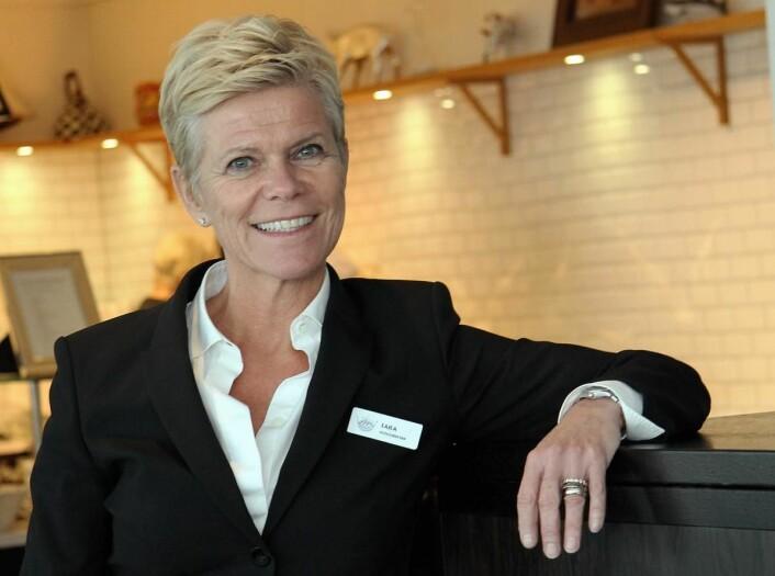 Laila Aarstrand er hotelldirektør på Støtvig Hotel. (Foto: Morten Holt)