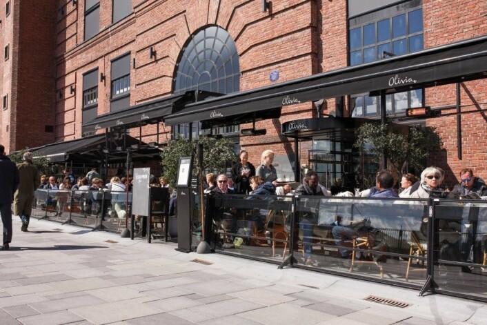 Restaurant Olivia på Aker Brygge (Foto: Aker Brygge)