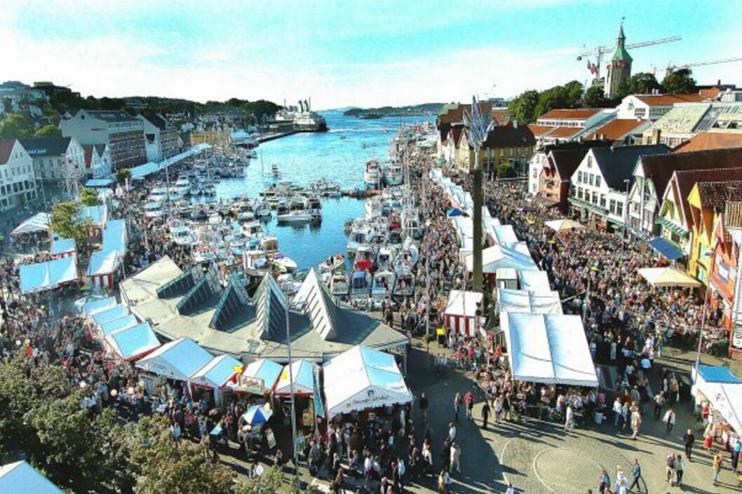 Fra Gladmatfestivalen i Stavanger. (Foto: Gladmat.no)