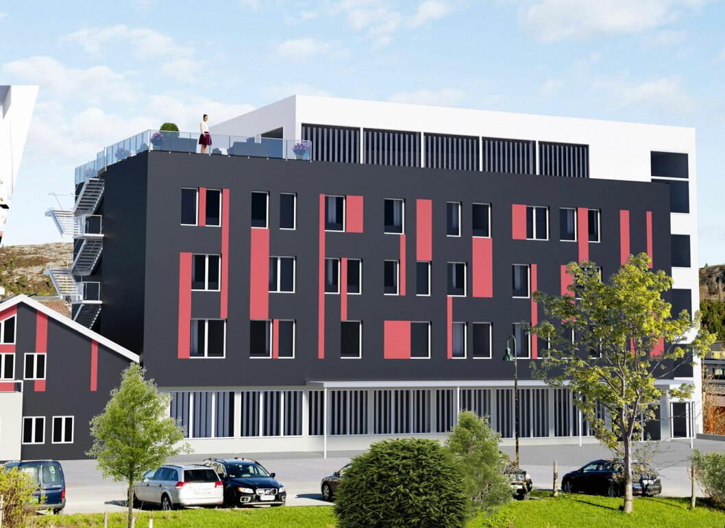Hjorten Hotell Hitra er offisielt åpnet. (Foto: Hjorten Hotell Hitra)