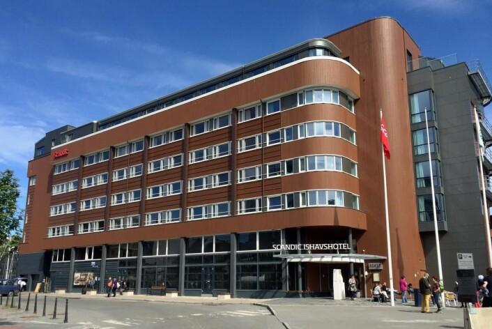 Scandic Ishavshotel I Tromsø er igjen blant de finalistene. (Foto: Morten Holt)