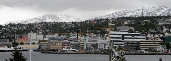 Også Tromsø øker mye. (Foto: Morten Holt)