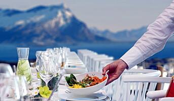 Lager verdens lengste frokostbord