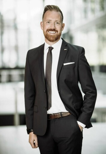 Kristoffer Solstad i Rezidor.