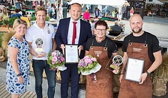 Trønder-spesialiteter hedret av mat- og landbruksministeren