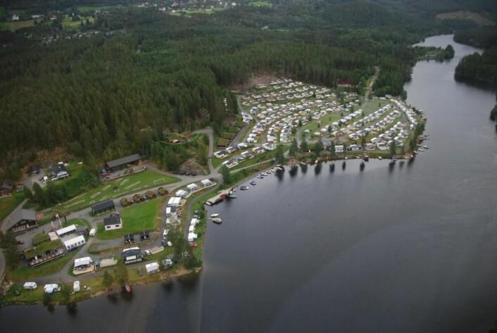 Aurdal Fjordcamping og Hytter i Valdres i Oppland. (Foto: Bedriften)