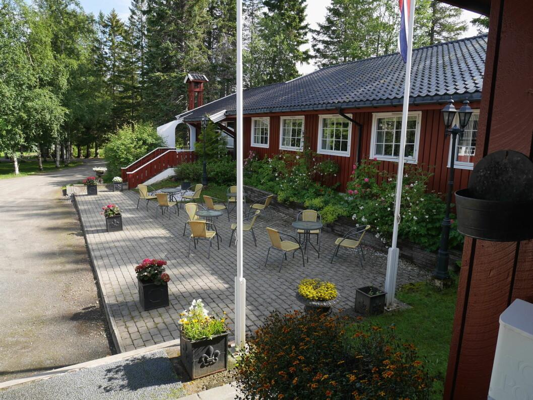 Stetind Hotell i Kjøpsvik er til salgs. (Foto: Hotellet)