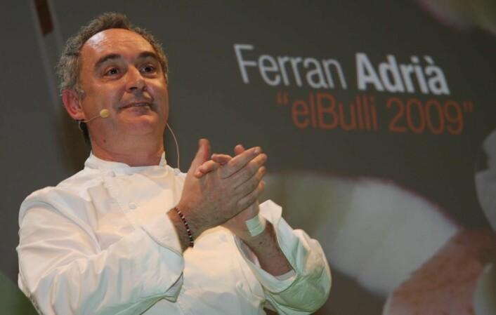 Ferran Adrià er mest kjent som mannen bak El Bulli. (Foto: Morten Holt)
