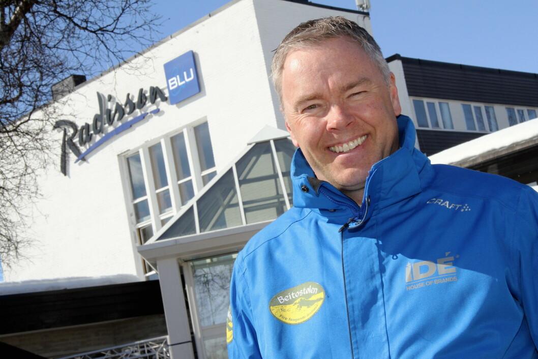 – Året har vært en eneste lang jubelreise, sier direktør for Beitostølen Resort, Atle Hovi. (Foto: Morten Holt)