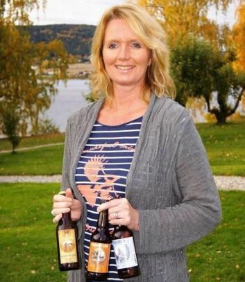 Kjersti Sundby, daglig leder for Sundbytunet Bryggeri & Destilleri.