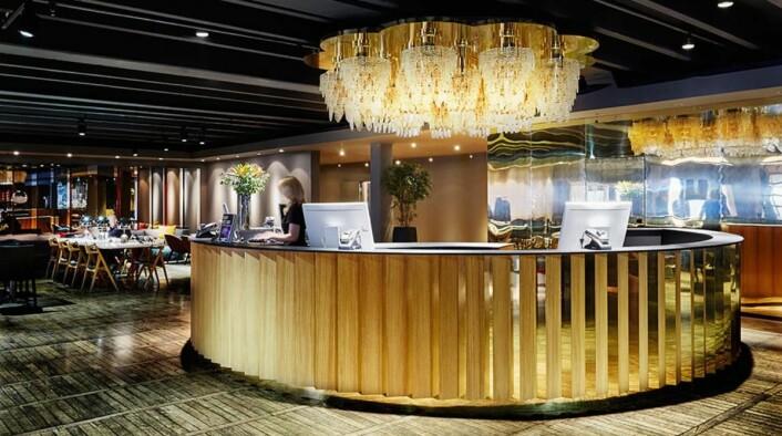 Fra resepsjonen på Clarion Hotel Amaranten. (Foto: Nordic Choice Hotels)