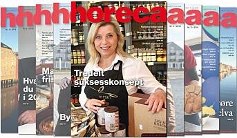 Nytt nummer av magasinet Horeca