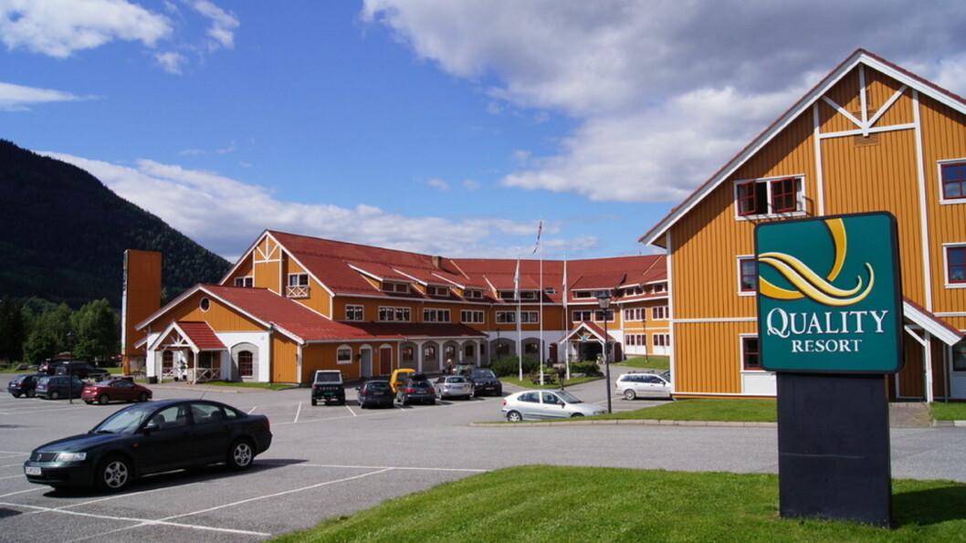 Fra Quality Hafjell til Meetingpoint Hafjell Hotel & Resort. (Foto: Øyer kommune)