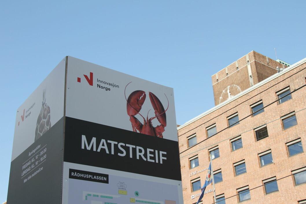 Fra fredag 2. til søndag 4. september arrangeres Matstreif i Oslo. (Foto: Morten Holt)