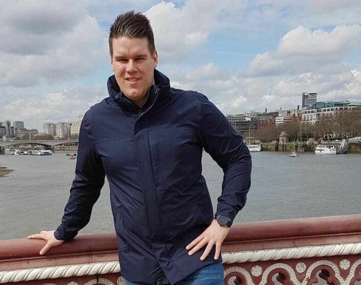 Leder for NHS Jobbsenter, Kim Roger Andersen.