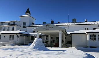 Lillehammer Hotel venter på snøen