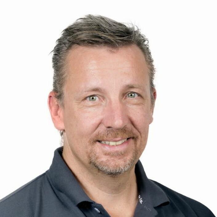 Bjørn Garder, daglig leder i Cater Storkjøkken.