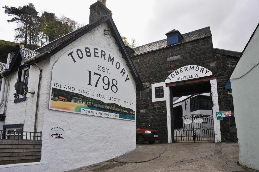 Tobermory er ett av merkene til Distell Group Limited.