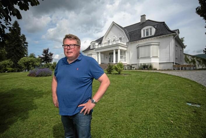 Olav Lie-Nilsen er kåret til «Årets lokalmatgründer».