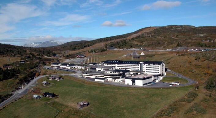 Storefjell Resort Hotel ligger på Golsfjellet i Buskerud fylke, ikke langt fra grensen til Oppland fylke. (Foto: Arkiv)