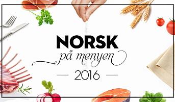 Setter pris på norsk på menyen