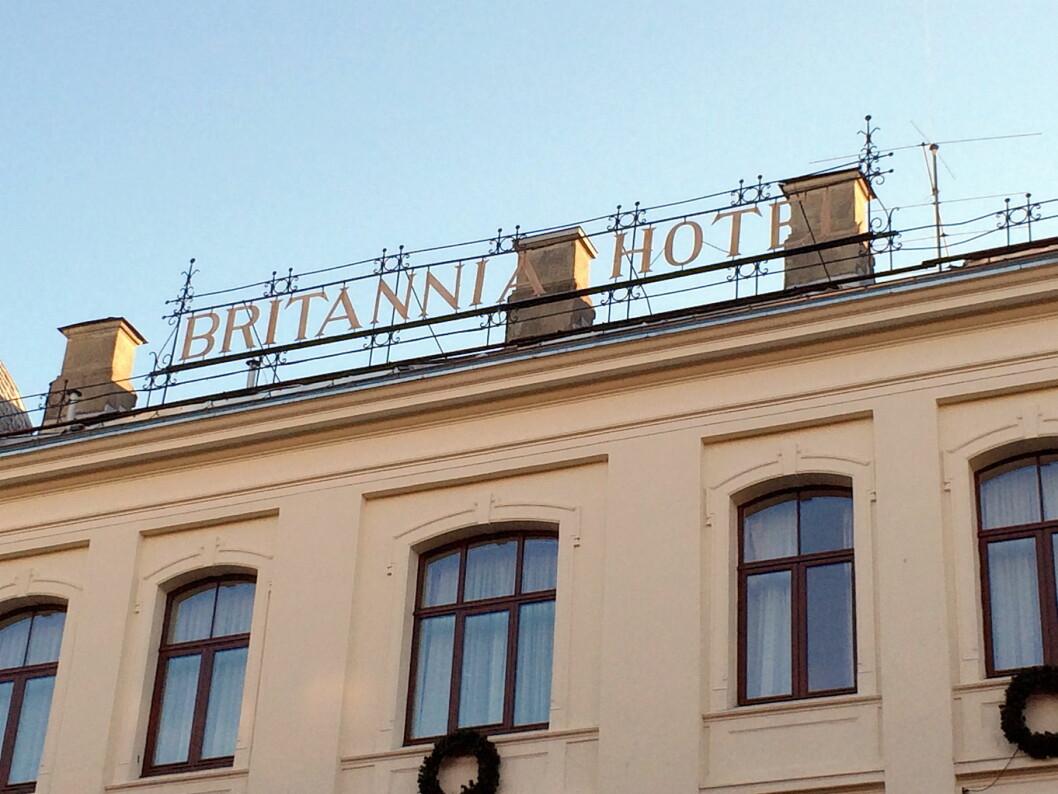Det søkes nå etter ny administrerende direktør på Britannia Hotel. (Foto: Morten Holt)
