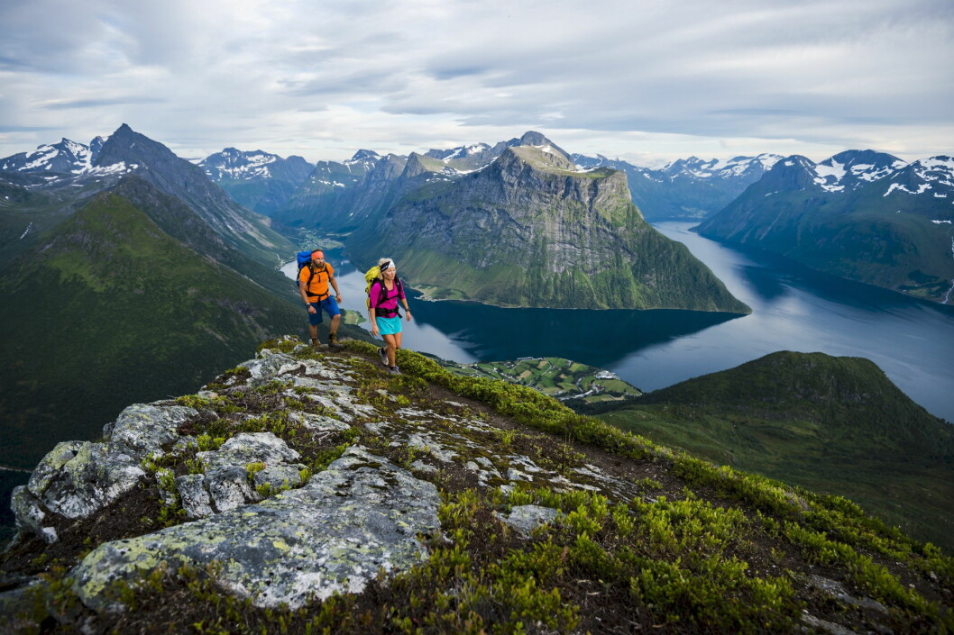 Det går oppover for norsk reiselivsnæring. (Illustrasjonsfoto: Mattias Fredriksson/visitnorway.com)