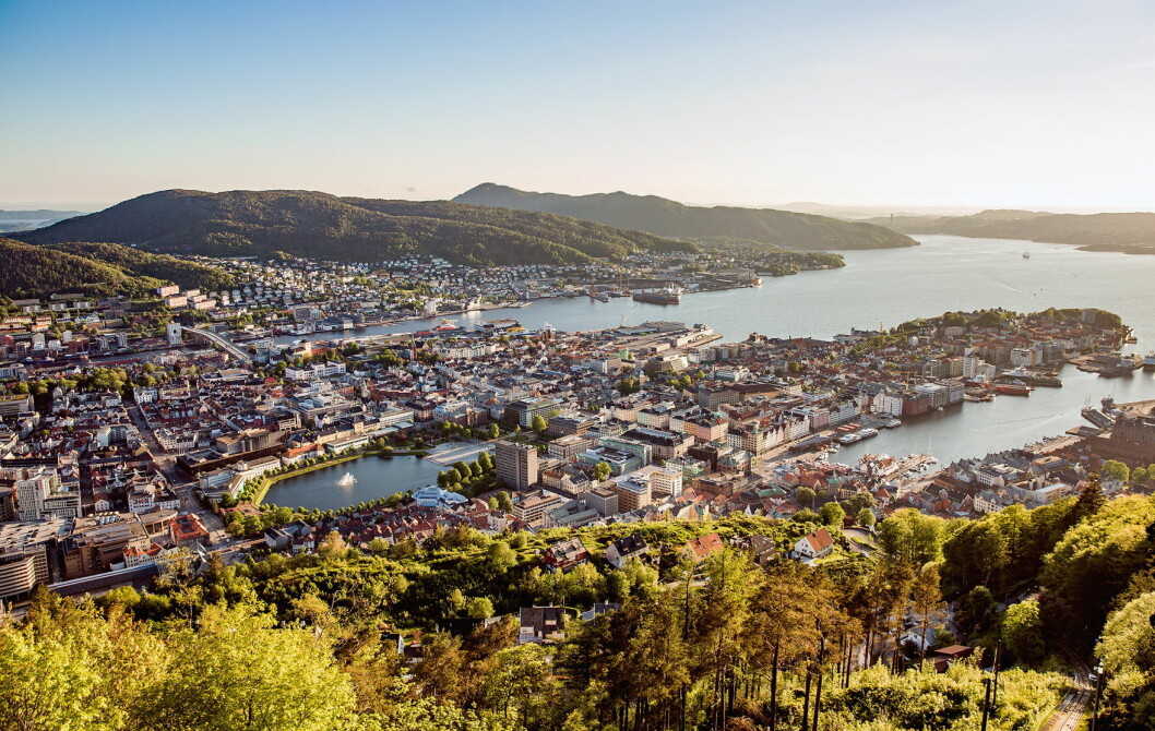 Bergen. (Foto: Colourbox.com)