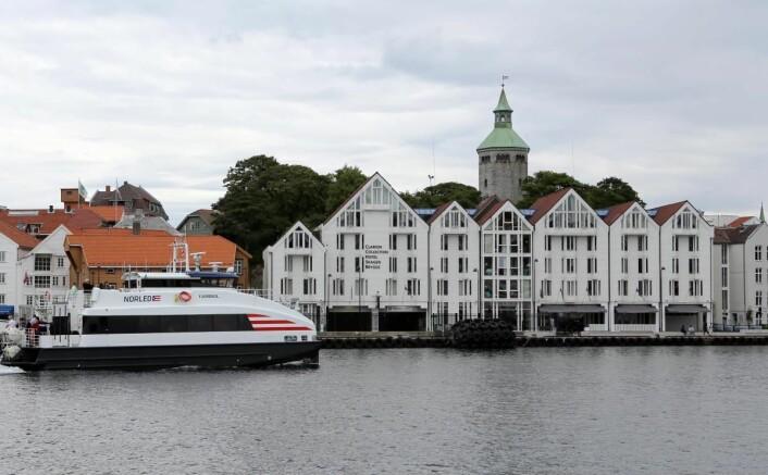 Stavanger og Clarion Collection Hotel Skagen Brygge. (Foto: Colourbox.com)