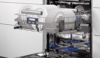 Lanserer oppvaskmaskin med heis