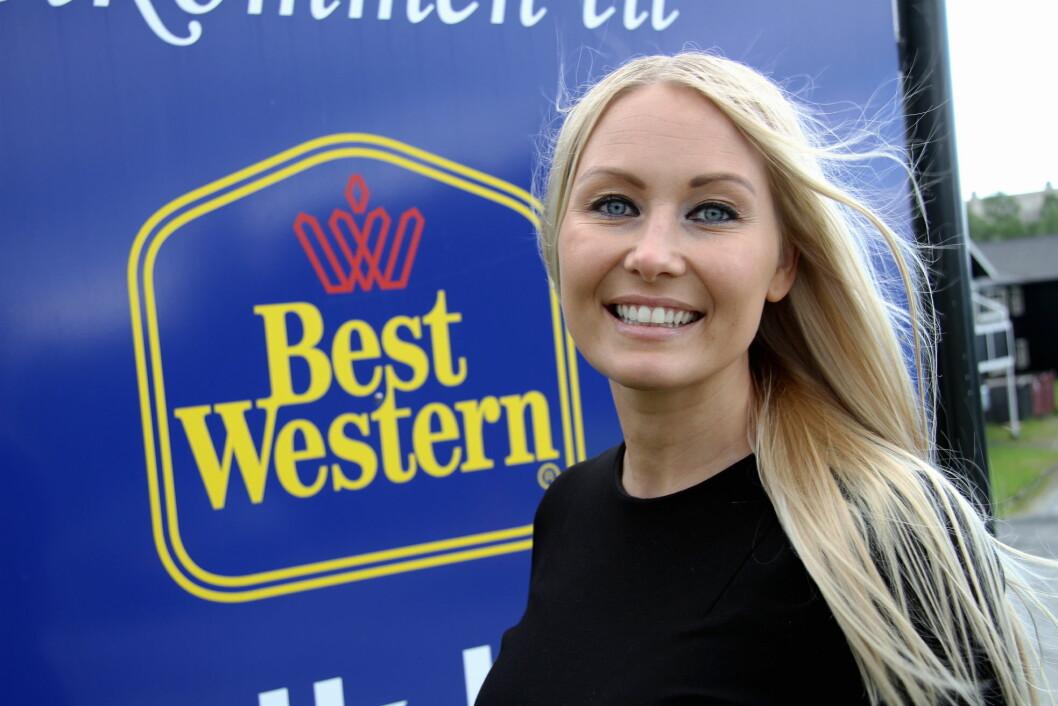 Etter at Marlene Storeng Pedersen tok over som hotelldirektør på Best Western Narvik Hotell, har hotellet fått et oppsving. (Foto: Morten Holt)