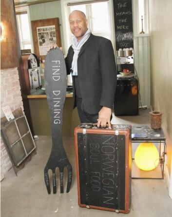 Christopher Williams kaller seg bare The Kitchen Tourist. (Foto: Morten Holt)<strong> </strong>