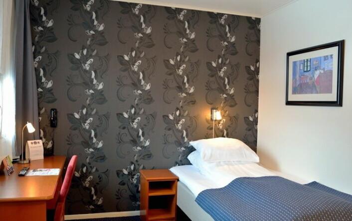Enkeltrom på Best Western Narvik Hotell. (Foto: Hotellet)