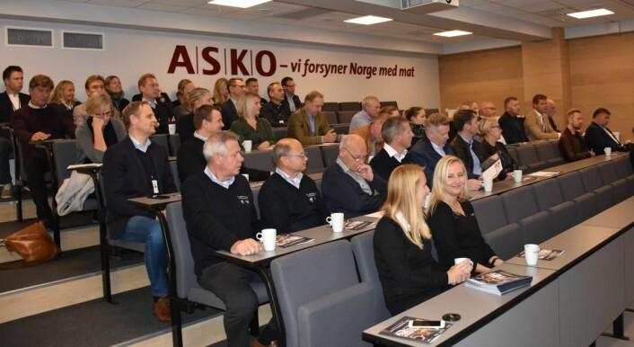 Fra åpningen av ASKO kompetansesenter.