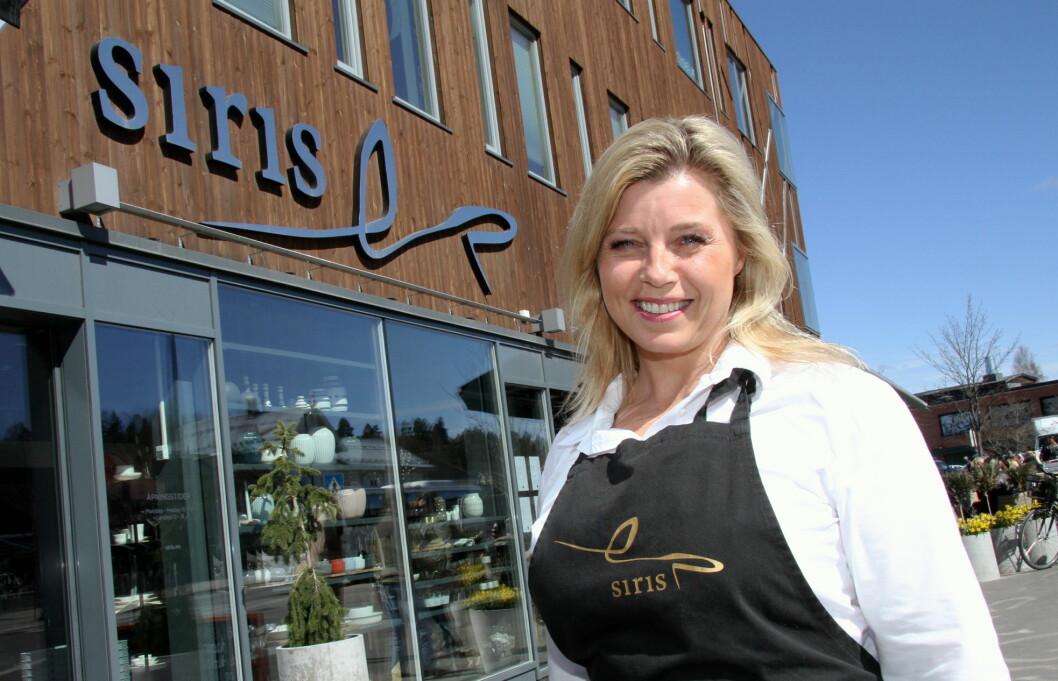 Siri Tømte har truffet elverumsingen med sitt tredelte konsept Siris Delikatesse, Spisested og Catering. (Foto: Morten Holt)