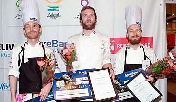 Simon Engen vant «Arktisk kokk» for andre gang